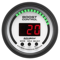 "AUTOMETER PHANTOM 2-1/16"" ELEC BOOST CONTROLLER AU5782, DUAL STAGE 0-30 psi."