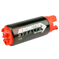 AEROMOTIVE 340 STEALTH FUEL PUMP ELEC EFI IN-TANK 340LPH @ 90 PSI ARO 11142