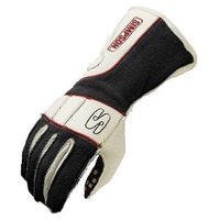 SIMPSON VORTEX NOMEX DRIVING GLOVES SIVRSK, SFI 3.3 SIZE SMALL BLACK