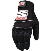 SIMPSON WRENCHER CREW GLOVES SI39032XK, SIZE X LARGE BLACK
