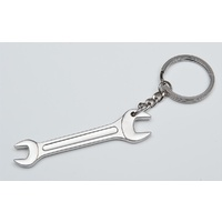 GENUINE HOTROD HARDWARE CHROME STEEL SPANNER KEY CHAIN NFI1007
