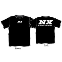 6X Black T-Shirt W/ White NX