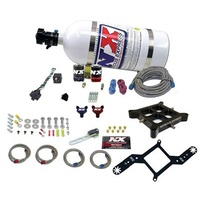 Nitrous Oxide System Billet Crossbar Dominator 4500 Series Plate Wet Microswitch Dual Stage Kit
