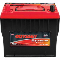 ODYSSEY OD25-PC1400 AGM Dry Cell Battery 850 CCA 240.3mm L x 173.7mm W x 220.7mm H