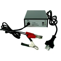 Battery Charger 3 step 12 Volt - 4 amp able for 12Ah-60Ah lead-acid batter y ODBC12V