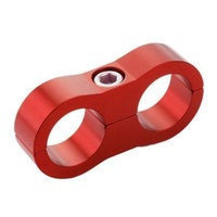 Billet Hose Clamp 8mm ID Hole Red
