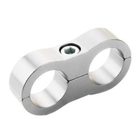 Proflow PFE156-06S Billet Hose Clamp 10mm ID Hole Silver