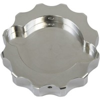 Billet Radiator Cap Cover Small Polished
