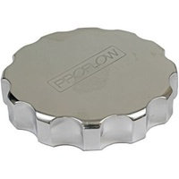 Billet Radiator Cap Cover Large Polished