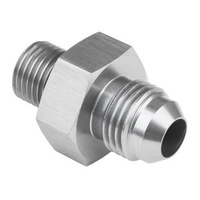 Proflow PFE731-03-03P Male Fitting 12mm x 1.50mm To Male Fitting -03AN Silver