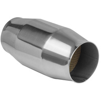 "Proflow PFECAT30100 Stainless Steel Polished Catalytic Converter 100 Cell 3.0"" x 200mm"