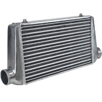 "Proflow PFEIC400400 Intercooler Delta & Fin 400 x 400 x 76mm 3"" Outlets"