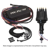 Proflow PFEIGNKL430 Ford Windsor 289 302 Pro Series Ignition Kit - Distributor / Ign Box / Lead Set