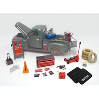 Phoenix Toys PHT-18415 Die-Cast Mobile Mechanic Accessory Set 1:24 Scale