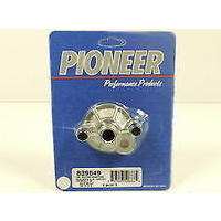 Pioneer PI839049 Chev BB & SB Universal Oil Filter Adapter With Bypass