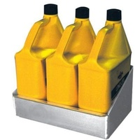 "PIT PAL WALL MOUNT SHELF DESIGNED FOR 3 X 3.8LTR OIL BOTTLES 14""W X 8""D PIT-316"