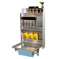 "PIT PAL MEDIUM TRAILER CABINET WITH FOLD DOWN TRAY 18.75""W x 30""H x 5.5"" PIT-323"