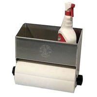 "PIT PAL UNIVERSAL SHELF WITH PAPER TOWEL HOLDER 10.5""H X 13.5""W X 5.75""D PIT-362"