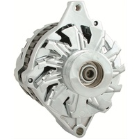 POWERMASTER CHROME 105A STREET ALTERNATOR PM17802 CHEV CS130 STYLE SERPENTINE