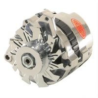 POWERMASTER GM/CHEV 140 AMP ALTERNATOR PM674611 INT REGULATOR SINGLE V PULLEY