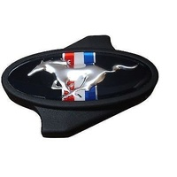 PROFORM FORD AIR CLEANER WING NUT PR302-338 BLACK WITH MUSTANG PONY LOGO