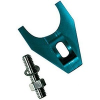 PROFORM ALLOY DISTRIBUTOR HOLD DOWN CLAMP PR66986 BLUE SUITS CHEVY V8