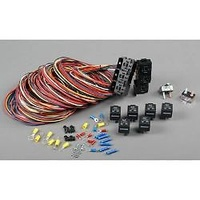 PAINLESS WIRING 6 BANK RELAY BLOCK KIT 40 AMP WITH CIRCUIT BREAKERS PW30108