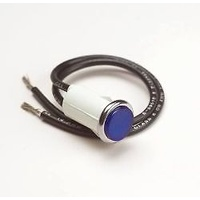 "PAINLESS WIRING 1/2"" INDICATOR LIGHT BLUE PW80211"