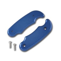 PRO WERKS CONTROL LEVER REPLACEMENT GRIP PWC42-542 BLUE
