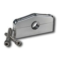 "PRO WERKS 1"" BAR MOUNT BRACKET POLISHED BILLET ALLOY PWC72-302"