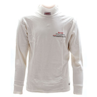 Pyrotect PY4700400 Large Inner Wear Turtle Neck Top White SFI Approved