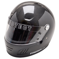 PYROTECT CARBON PRO AIRFLOW FULL FACE HELMET PY7004005 LARGE SNELL SA2015 RATED