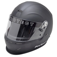 PYROTECT PROSPORT FULL FACE DUCKBILL HELMET PY8082005 MEDIUM FLAT BLACK SA2015