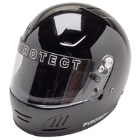 Pyrotect PY9011005 Pro Airflow Full Face Helmet SMALL Black SA2015 Rated