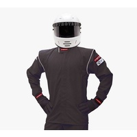 PYROTECT JUNIOR DX1 BLACK RACING JACKET PYJJDX1201 MEDIUM 8-10 SF-1 SINGLE LAYER