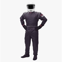 PYROTECT JUNIOR DX1 BLACK 1-PIECE RACING SUIT PYJSDX1601 XX-LARGE SF-1 SINGLE