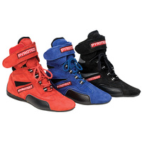 Ankle Top Black Racing Shoes Size 12 (SFI-5 Rated) (PYX48120)