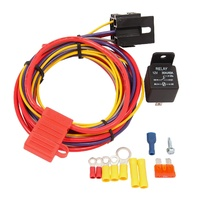 QUICK FUEL HOLLEY AEROMOTIVE ETC FUEL PUMP 30AMP RELAY WIRING KIT QFT30-199