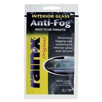 RAIN-X ANTI FOG WINDSCREEN TREATMENT TOWEL/SATCHEL 15ML *** 5 PACK *** AF21169