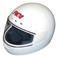 "RCI FULL FACE HELMET RCI3035W X-LARGE (7-3/4"") WHITE SNELL M2010 RATED"