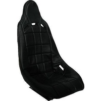 RCI RCI8001S High Back Poly Seat Cover Black - suits RCI8000S Seat