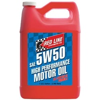 RED LINE 5W/50 SYNTHETIC ENGINE OIL RED11605, 1 GAL (3.785 Litres)