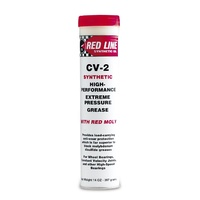 Red Line RED80402 CV-2 Grease 14oz Cartridge/Tube (396 Grams)