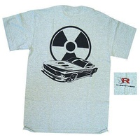 "RING BROTHERS SMALL RING BROTHERS ""REACTOR"" T-SHIRT - GREY RINGRB-TS-GRSML"