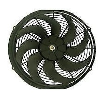 "RPC UNIVERSAL 14"" ELECTRIC REVERSABLE CURVED BLADE FAN KIT 2525 CFM RPC R1014"