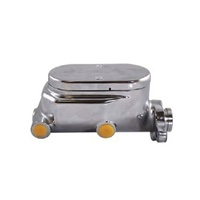 "Aluminium Master Cylinder 1"" Bore, Chrome Finish (4 ports) (Fits most GM applications) (RPCR3500)"