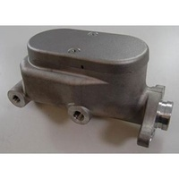 Aluminium MASTER CYLINDER 1' BORE 4 PORTS SMOOTH -RAW