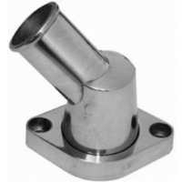 Aluminium 45° Swivel Thermostat Housing, Polished, O-Ring StyleFits S/B & B/B Chev 1955-64 V8 283 / 350 (RPCR6003)