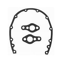 RPC RPCR6040G Chev SB 3PC Timing Cover Gasket Set Steel Alloy Covers