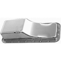 RPC CHROME STEEL STOCK OIL PAN RPCR9330 SUITS FORD BB 352-390-406-427-428 V8